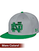 Under Armour University of Notre Dame Baseball Flat Bill Cap