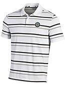 University of Notre Dame Monogram Club Striped Polo