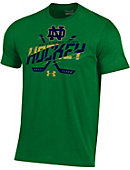 Under Armour University of Notre Dame Fighting Irish Hockey Charged Cotton T-Shirt