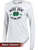 University of Notre Dame Women's Long Sleeve T-Shirt