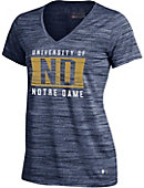 University of Notre Dame Womens' Novelty Tech T-Shirt