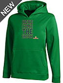 Under Armour University of Notre Dame 'Here Comes' Youth Hooded Sweatshirt