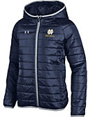 F1644A Youth Puffer Hooded Jacket