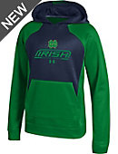 Under Armour University of Notre Dame Youth Hooded Sweatshirt