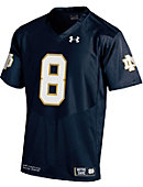 University of Notre Dame #8 Youth Football Replica Jersey