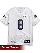 University of Notre Dame #8 Youth Football Jersey