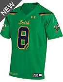 Under Armour University of Notre Dame Youth Football Replica Jersey