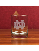 University of Notre Dame 14 oz. DOF Glass