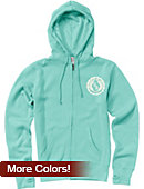 University of Dallas Women's Full Zip Hooded Sweatshirt