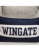 League Spirit Pillow Long Navy With White Stripe Wingate