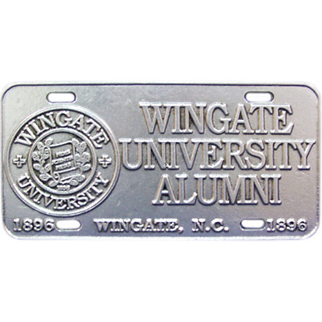 Product: Alumni Pewter License Plate