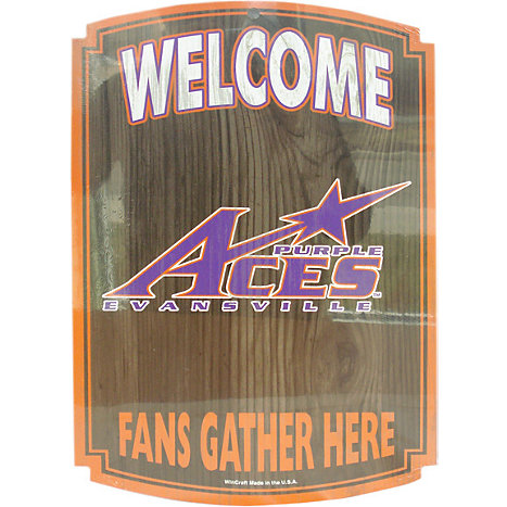 Product: Aces fan Wood Sign