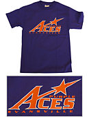 Purple ACES Logo T-Shirt