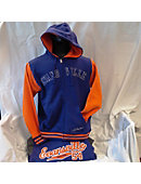 Purple Varsity Full Zip Orange Inserts
