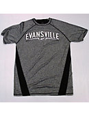 Grey Dri-fit Tee With Mesh Back