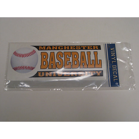 Product: Baseball Car Decal