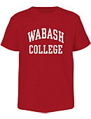 Wabash College Toddler Red Basic Tee