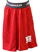 Wabash College - Under Armour Youth Shorts - Red