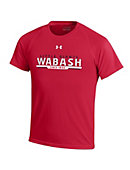 Wabash College Youth Red Tech Tee