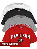 T-Shirt With Davidson Over Cat