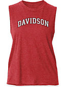 Women's Red Muscle Tee
