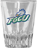 Florida Gulf Coast University Eagles 2 oz. Fluted Collector's Glass