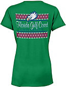 Florida Gulf Coast University Women's V-Neck T-Shirt