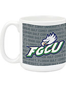 Florida Gulf Coast University Mega Mug