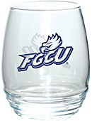 Florida Gulf Coast University Stemless Wine Glass