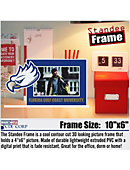 Florida Gulf Coast University Eagles 4' x 6' Standee Frame
