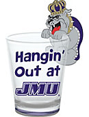 James Madison University Dukes 1 oz. Collector's Glass