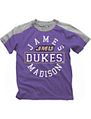 James Madison University Dukes Boys' Color Block T-Shirt