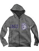 James Madison University Boy's Full Zip Hooded Sweatshirt