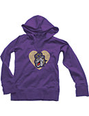 James Madison University Youth Girls' Hooded Sweatshirt