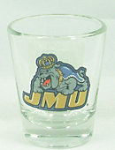James Madison University Dukes 1.5 oz. Collector's Glass