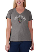 James Madison University Women's V-Neck T-Shirt