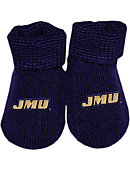 James Madison University Baby Booties