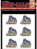 James Madison University Dukes Face Cal Decal