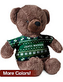 James Madison University Ugly Sweater Cuddle Bear