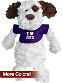 James Madison University Fuzzy Bunch Plush