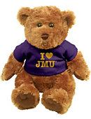 James Madison University I Heart' 10'' Bear Plush