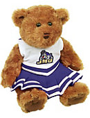 James Madison University Cheerleader Bear