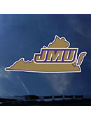 James Madison University Dukes State Decal