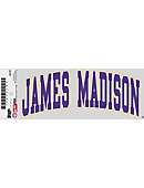 James Madison University Cling Decal