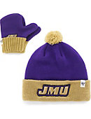 James Madison University Toddler Hat and Mitten Set