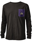James Madison University Dukes Vintage Washed Long Sleeve Pocket T-Shirt