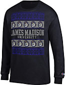 James Madison University Ugly Christmas Sweater Long Sleeve T-Shirt