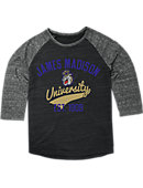 James Madison University Dukes Women's 3/4 Sleeve T-Shirt