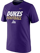 Nike James Madison University Short Sleeve Football T-Shirt