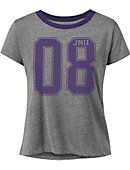 James Madison University Women's Cropped Short Sleeve T-Shirt